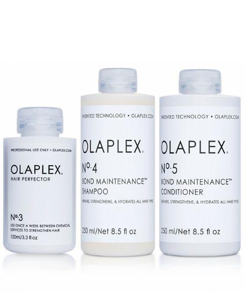 טיפול אולפלקס מס` 3 + שמפו אולפלקס מס` 4 + מרכך אולפלקס מס` 5